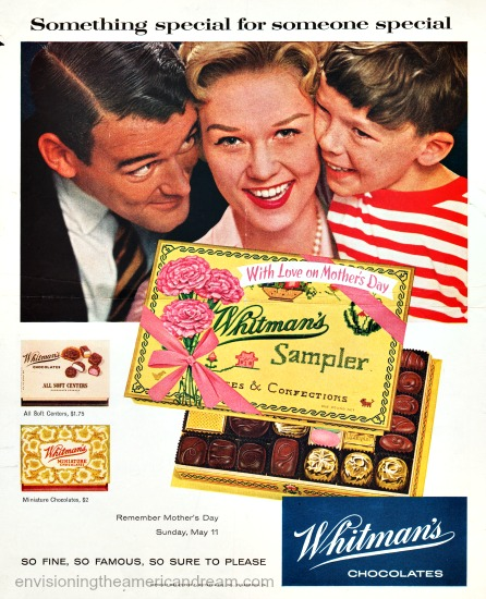 Mothers Day Whitmans Chocolate ad