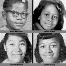 Birmingham Bombing victims  4 little girls