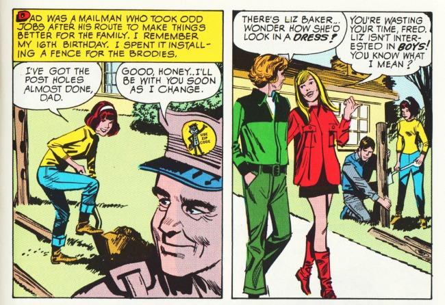 comics love that stange girl1 SWScan04861