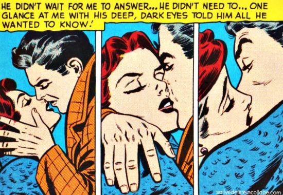 Vintage Love Comic