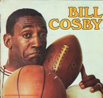 Bill Cosby with sports balls