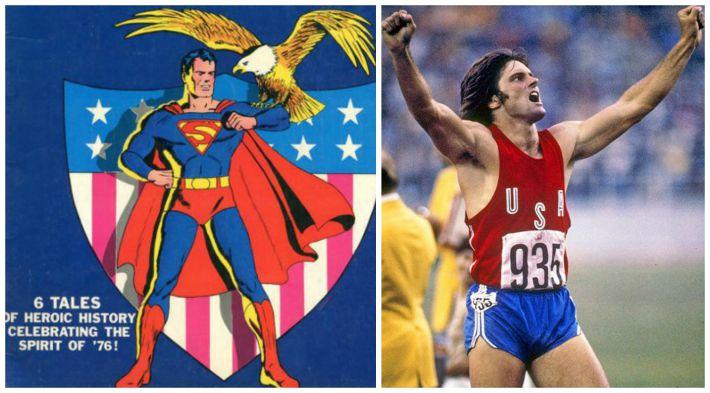 Bruce Jenner Bicentennial Superman