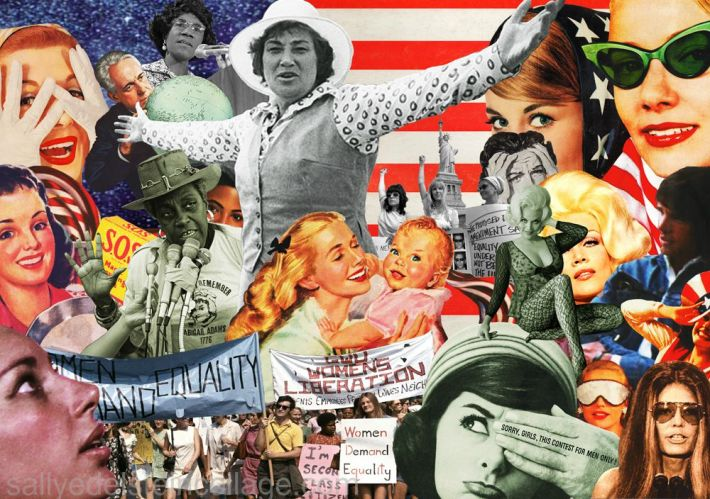 collage Sally Edelstein