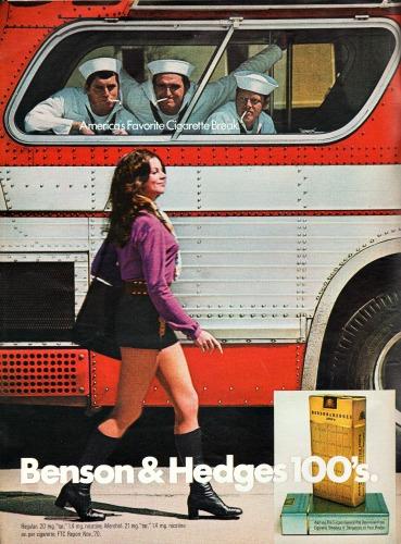sailors on bus ogling girl in mini skirt