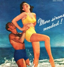 Vintage Swimsuit ad Hurrell photographer
