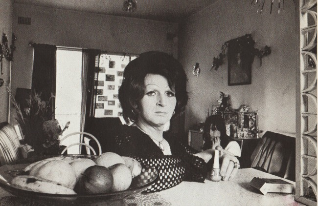 Transgender woman 1976