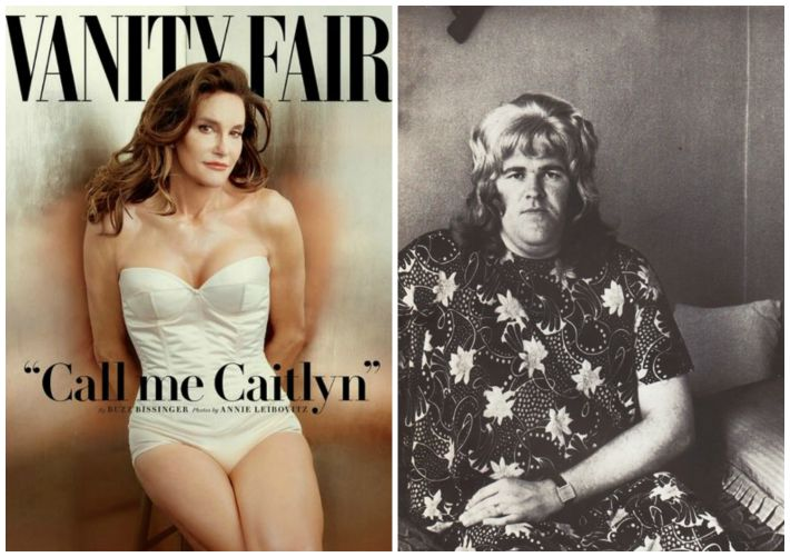 Cait Jenner vanity Fair Cover and trans woman 1976