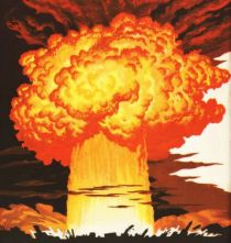 Atom Bomb Blast