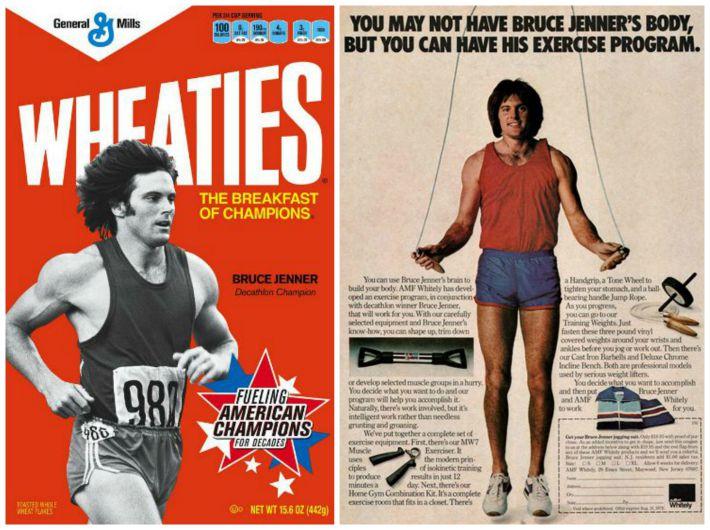 Bruce Jenner Athlete Champion