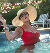 Summer Greetings Photo Sally Edelstein Pool
