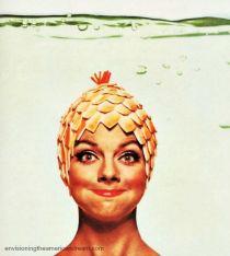 Vintage Beach bathing Cap