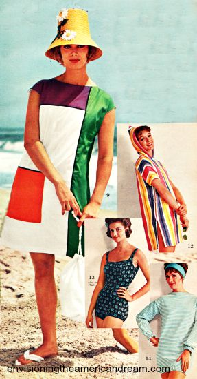 summer swimsuit 1962