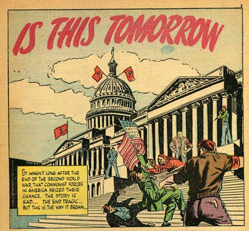 Communism is this tomorrow panel