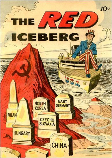 anti communism comic book The Red Iceberg