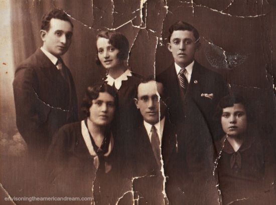 Polish Jews 1930s. Vintage photo from family collection