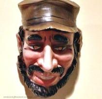 vintage Halloween mask Castro