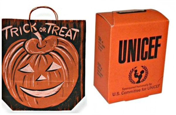 Halloween Trick or Treat bag and UNICEF