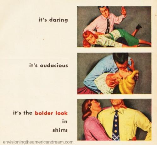 sexist vintage ad Van Heusen