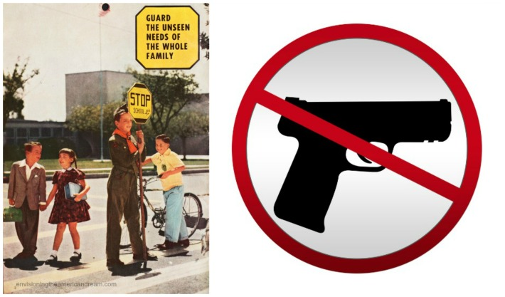 collage Guard the Needs of the Whole family Safety guard and gun control