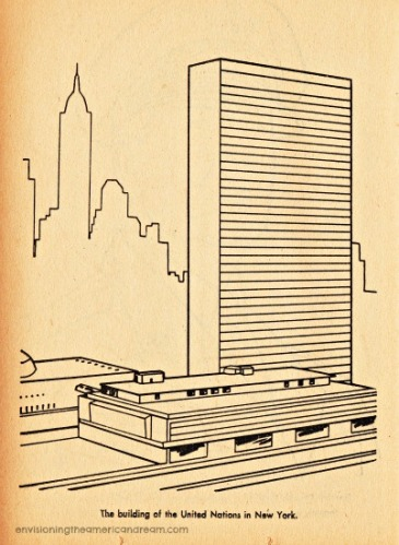 UN Coloring Book page