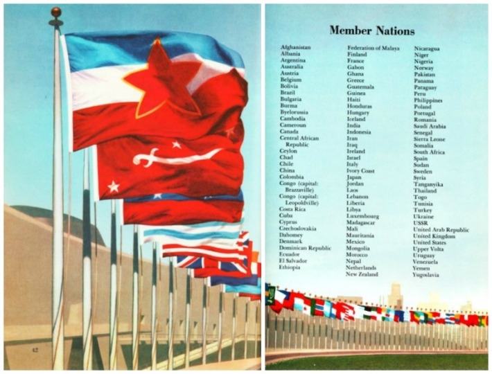 UN Flags Member Nations