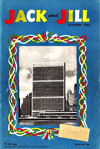 UN Jack and Jill Magazine 1952 New UN Headquarters