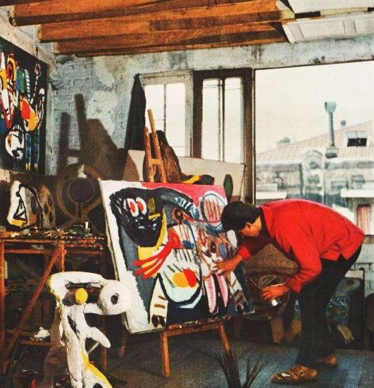 Paris Artist 1950s