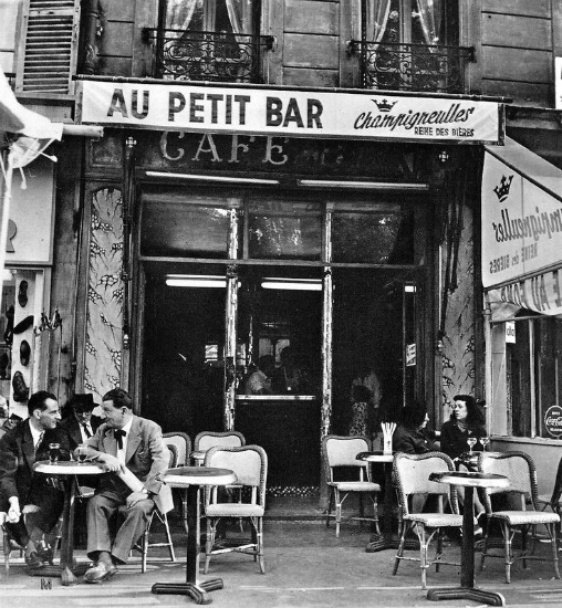 Paris Au Petit Bar 1950 Ervin Martin