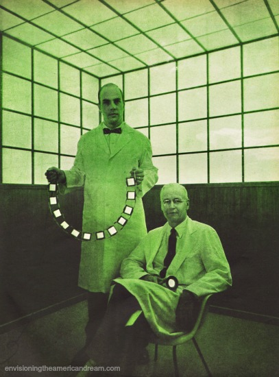 vintage ad green scientists