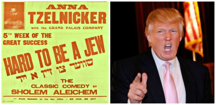 Trump Hard to Be a Jew