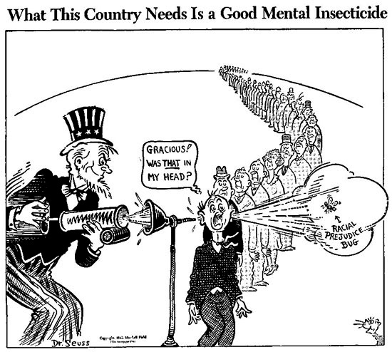 WWII Dr Seuss editorial mental-insecticide