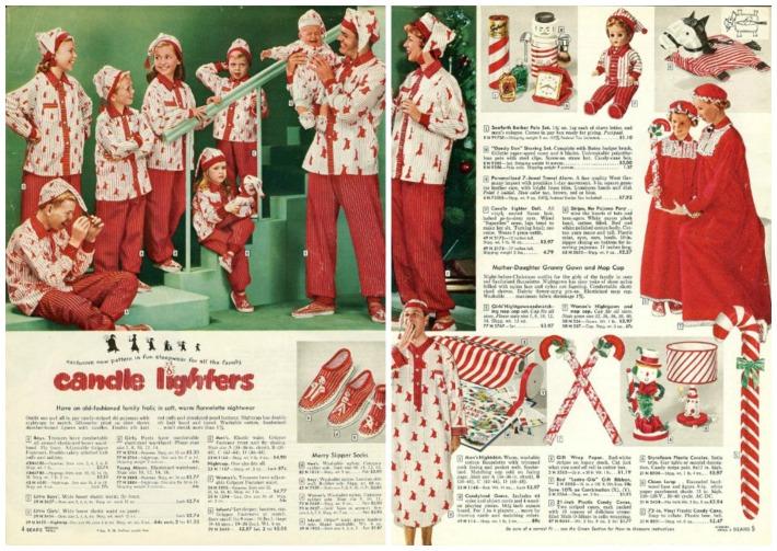 Xmas catalogs Sear 58