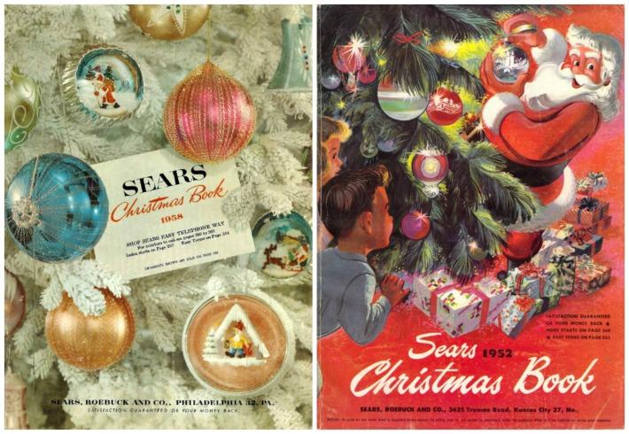 Sears Christmas Photos.Xmas Catalogs Sears 1958 1952 Envisioning The American Dream