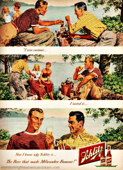 Vintage ad Schlitz Beer 1946