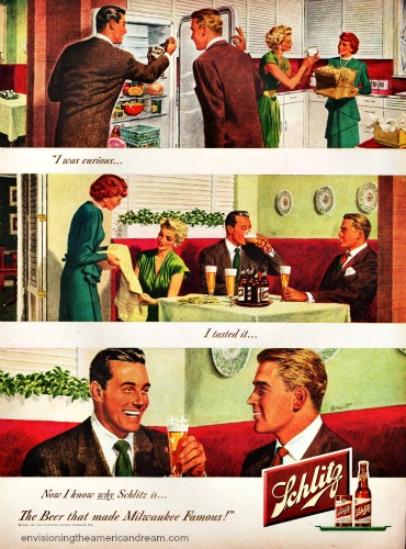 Vintage ad Schlitz Beer I am Curious 1949