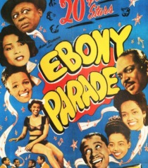 vintage Movie poster Ebony on Parade