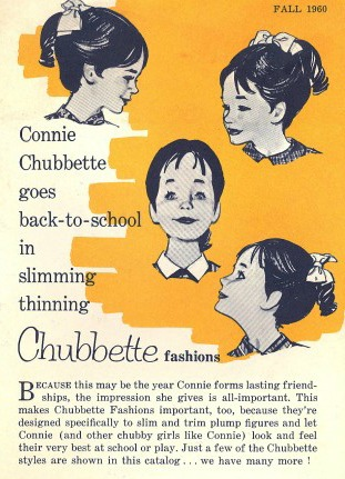 Vintage article Chubbette fashion Connie