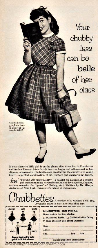Vintage ad Chubbettes