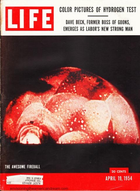 Nuclear Life Magazine Hydrogen test 1954