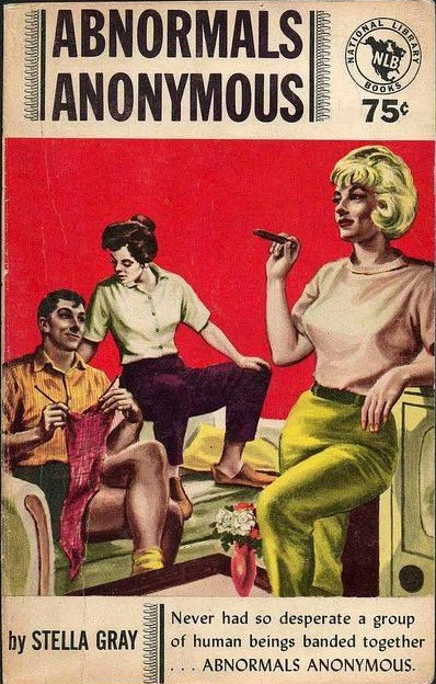 Vintage LGBT Pulp Abnormals Anonymous by Stella Gray