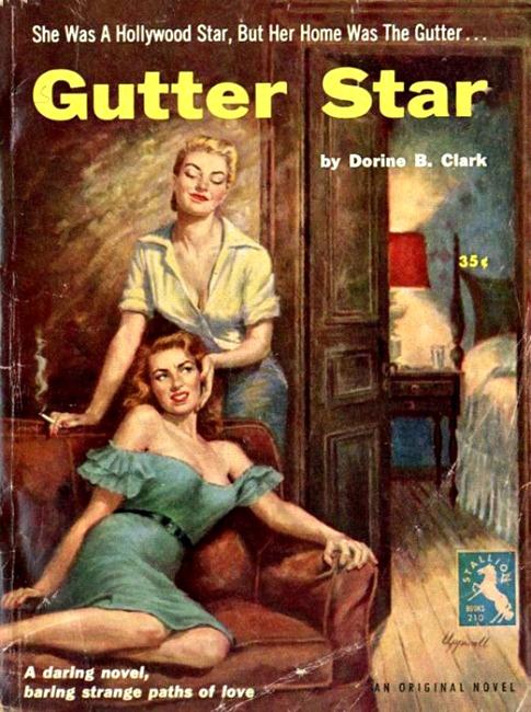 Vintage Lesbian pulp fiction Gutter Star