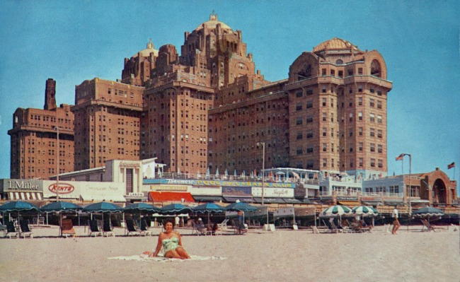 Vintage Atlantic City Hotel Traymore