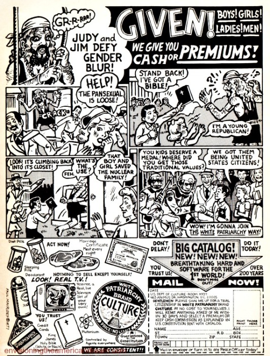 cartoon from alternative comic 1970s