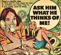 Vintage Comic Book Young Romance 1973
