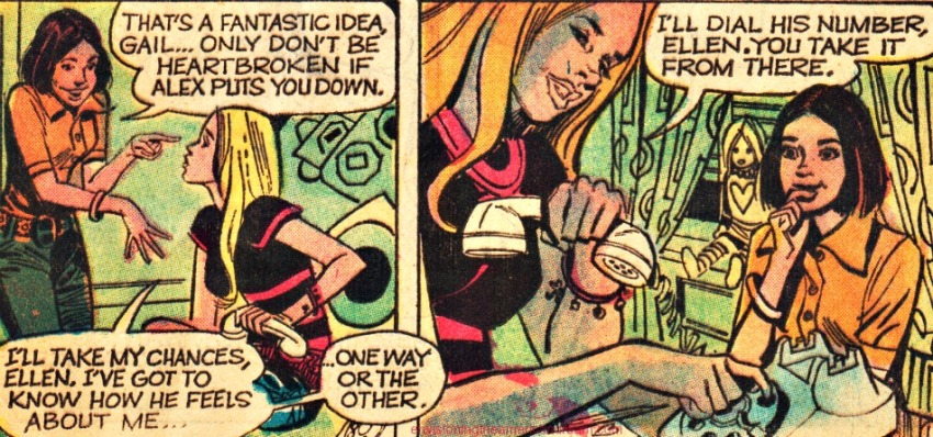 Vintage Comic Young Romance 1973