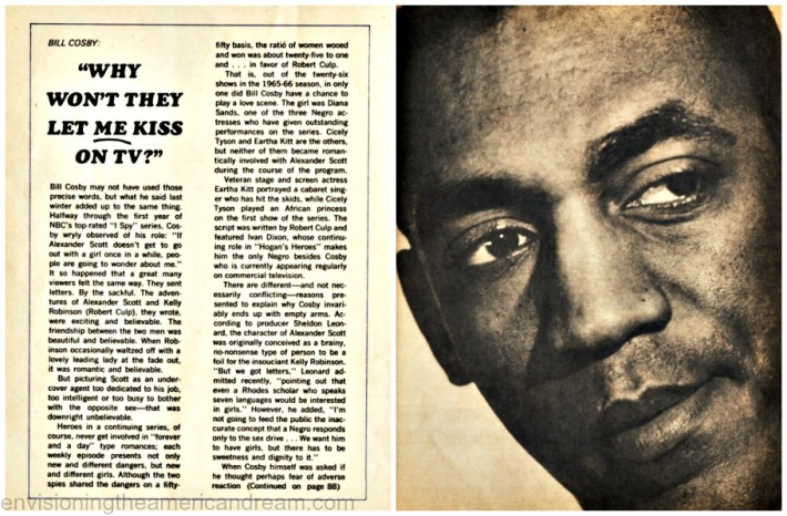 vintage article on Bill Cosby Photoplay 1966