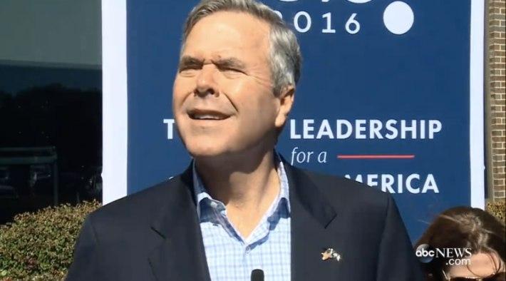 Jeb Bush no glasses