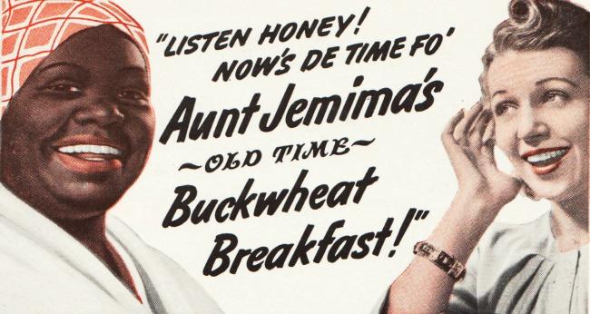 Vintage Aunt Jemima ad 1941