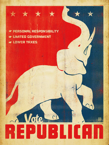 Vintage Republican Vote