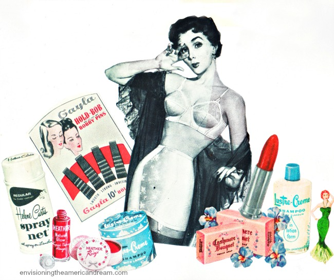 appropriated images collage Sally Edelstein